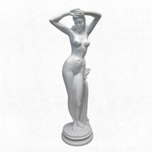 "Divine Maiden"" Bonded Marble Statue"