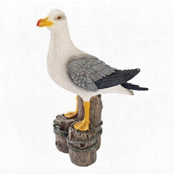Dockside Seagull Statue