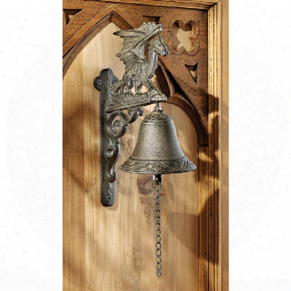 "Dragon Of Murdock Manor"" Gothic Iron Bell"