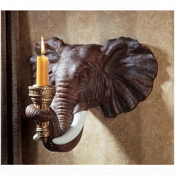 Elephant Wapl Sconce: Set Of Two