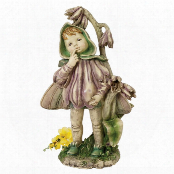 Ella, The Littlest Flower Fairy Statue