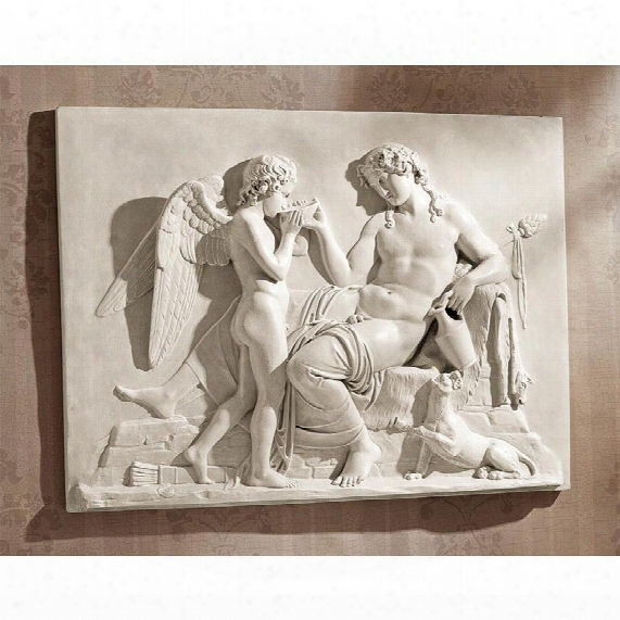 Eros And Dionysus High Relief Frieze