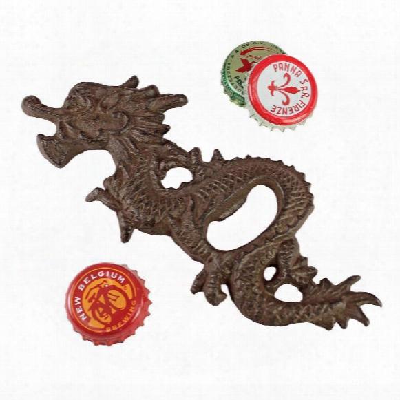 Far East Asian Dragon Cast Iron Bottle Opener