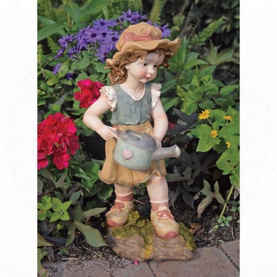 Farmer Fanny Garden Statue