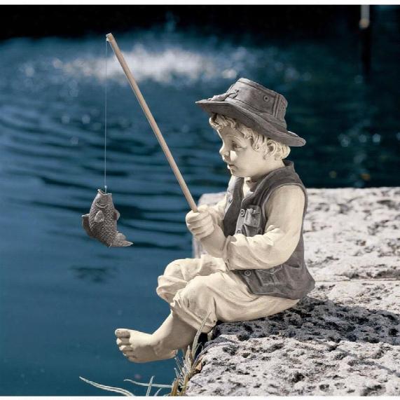 Frederic, The Little Fisherman Of Avignon Statue