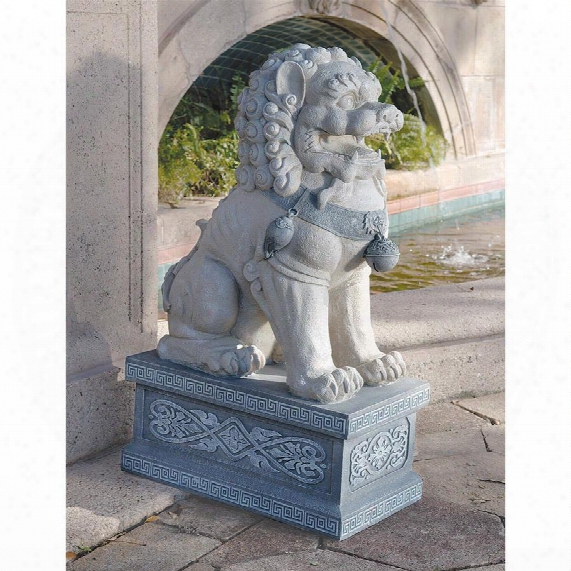 Giant Foo Dog Of The Forbidden City Sculpture