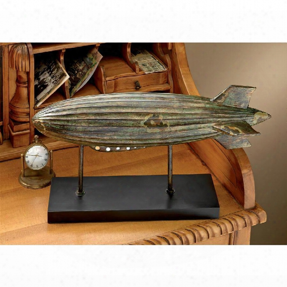Graf Zeppelin Airship Statue