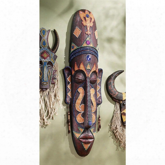 Grand Scale Tribal Wall Mask
