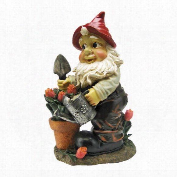 Gustav, The Gardening Gnome Statue