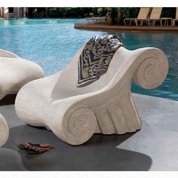 Hadrian's Villa Roman Spa Furniture Collection: Master's Chair