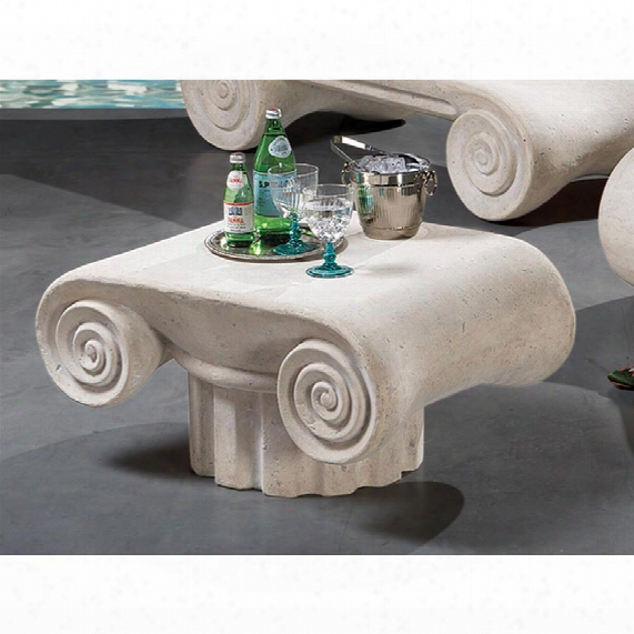 Hadrian's Villa Roman Spa Furniture Collection:cocktail Table
