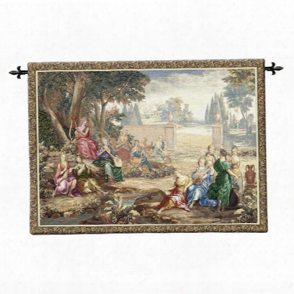 Harmony Wall Tapestry: Wool & Cotton
