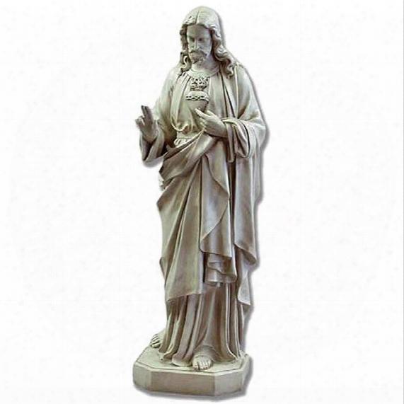 Il Cuore Spaventato Di Christ Religious Statue