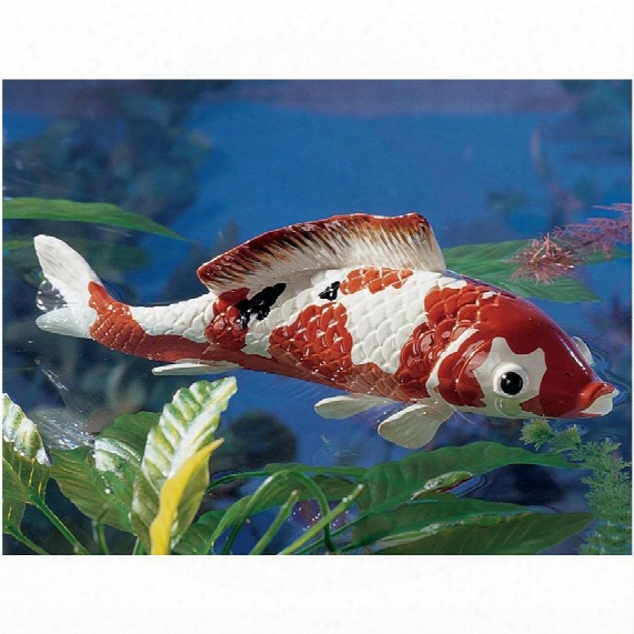Japanese Floating Koi Sculpture: Large