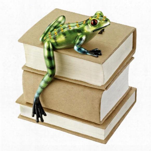 Jungle Forest Tree Frog Shelf Sitter