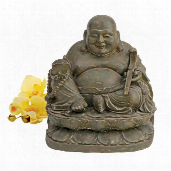 Laughing Buddha Sanctuary Statue