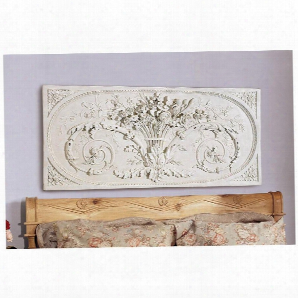 Le Bouquet Grand Sculptural Wall Frieze