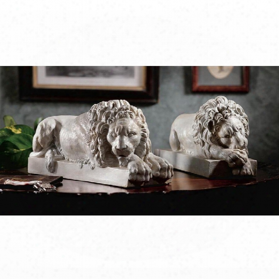 Lions From The Vatican Sculptures