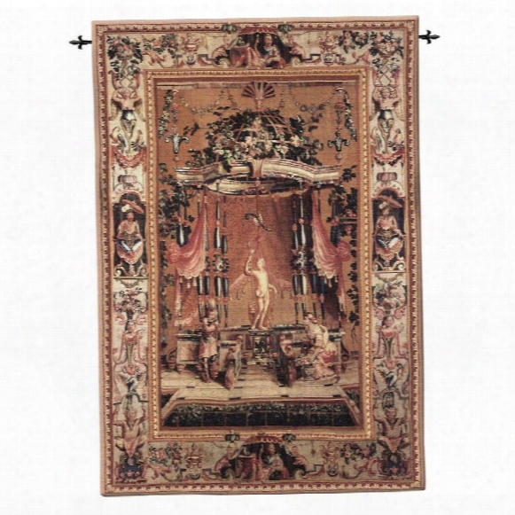 L'offrande A Bacchus Wall Tapestry: Large, Cotton
