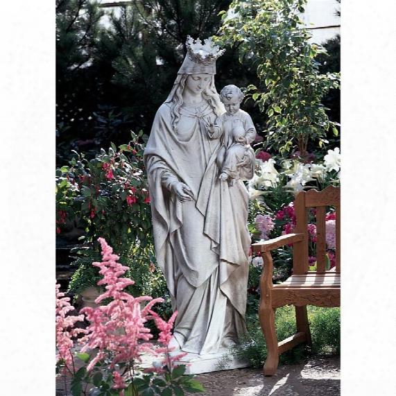 Madonna, Queen Of Heaven Life-size Garden Statue