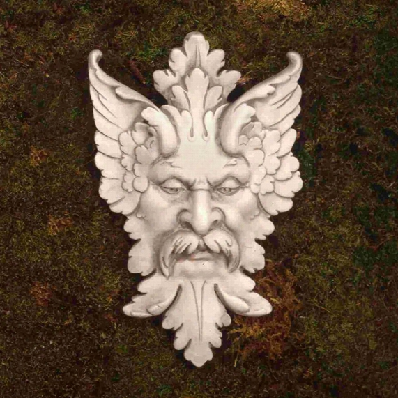 Michelangelo's Florentine Man, Greenman Wall Sculpture: Medium