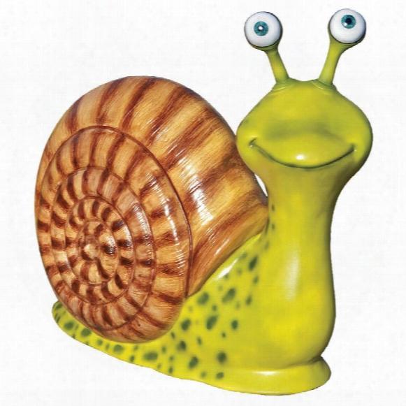 Monsieur Escargot, Enormous Garden Snail Statue