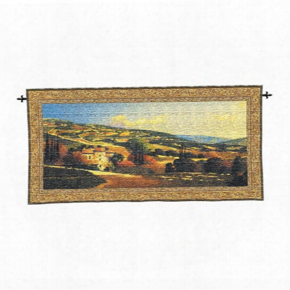 My Villa In Tuscany Wall Tapestry