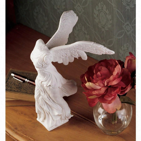 Nike Of Samothrace Bonded Marble Statue