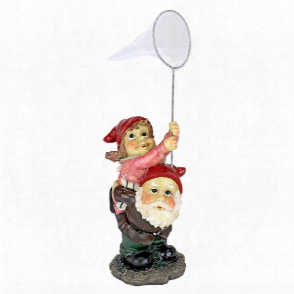 Nuttin But Net Gnome Statue