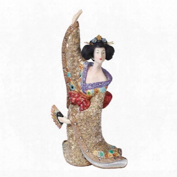 Odoriko Geisha Asian Statue Collection: Aiko