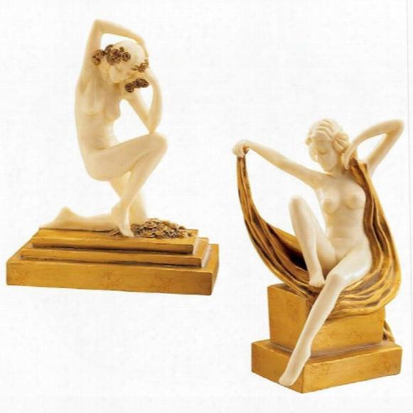 Palace Du Trocadero Statues Set