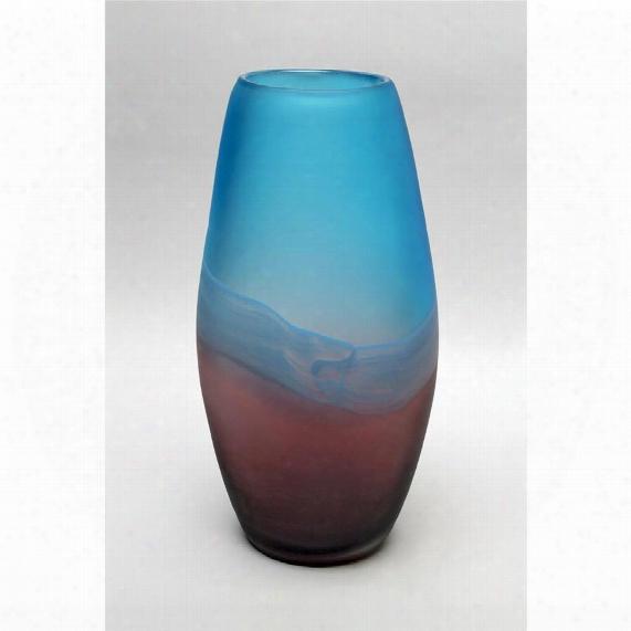 """Palo Duro 13"""" Glass Vase"""