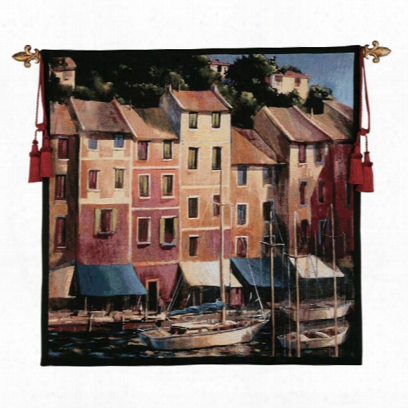 Portofino Waterfront Tapestry