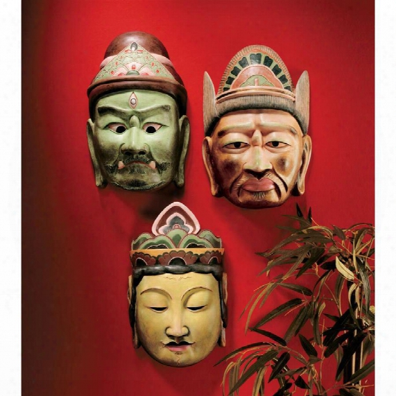 Processional Masks Of The Devas: Set