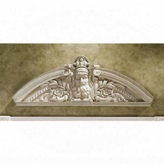 Prometheus, The Rebel Titan Sculptural Wall Pediment: Set Of Two