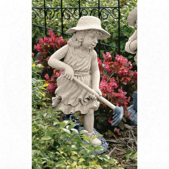 Rebecca, Young Gardener Sculpture