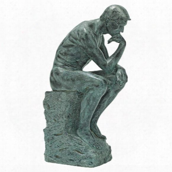 "Rodin's Thinker"" Statue Inspired By The Original By Auguste Rodin"