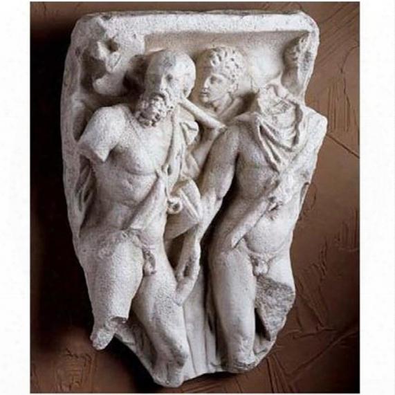 Roman Warrior Frieze Fragment