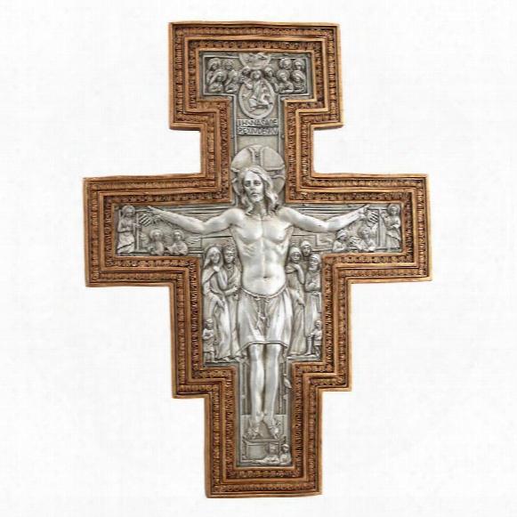 San Damiano Sculptural Wall Cross