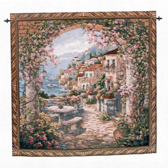 Seaview Hideaway Ii Landscape Wall Tapestry