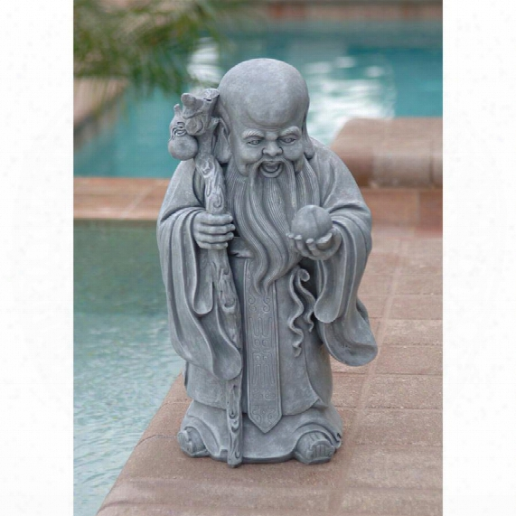 Shou Xin Gong: Chinese God Of Longevity Statue