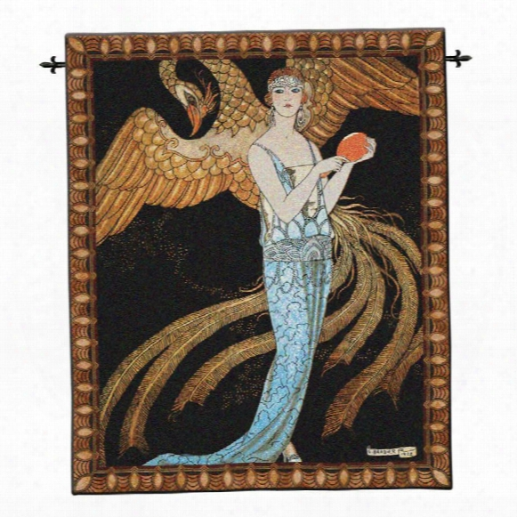 Sortileges Art Deco Wall Tapestry