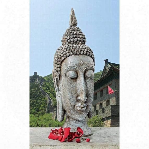 Sukhothai Buddha Asian Garden Sculptural Bust