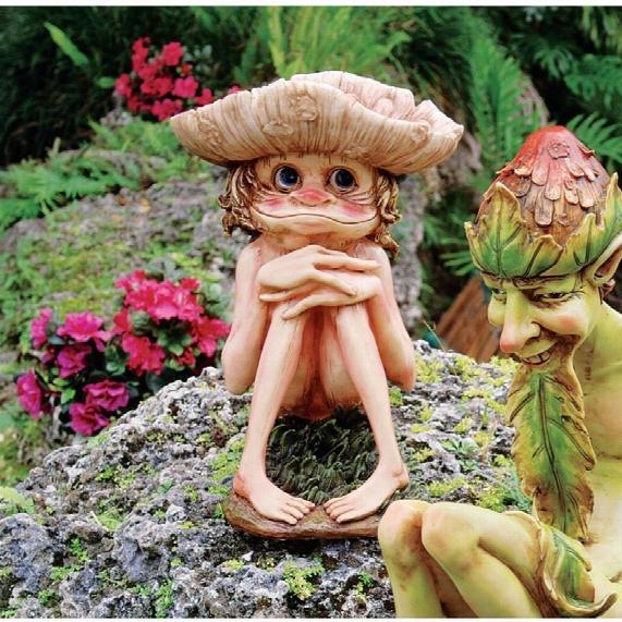 Svenska, The Garden Troll Sculpture
