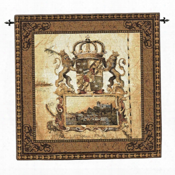 Terra Nova I Wall Tapestry: Large