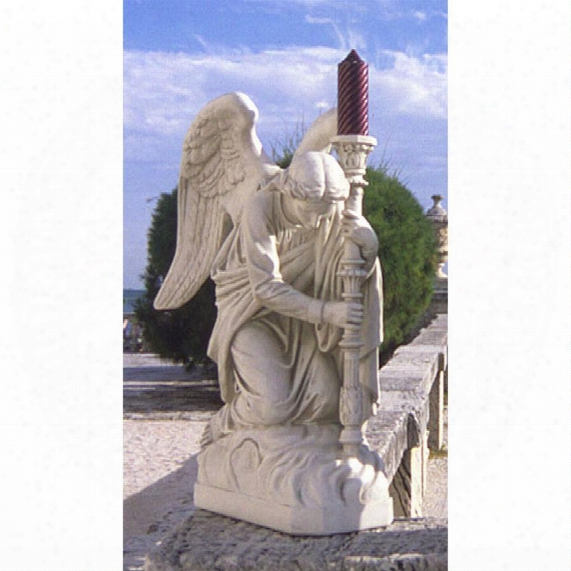 The Bergama Renaissance Angel Statue: Left