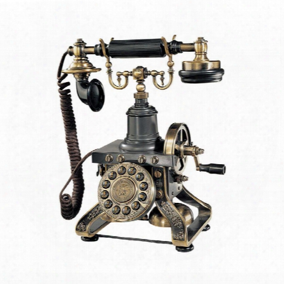 The Eiffel Tower 1892 Reproduction Telephone