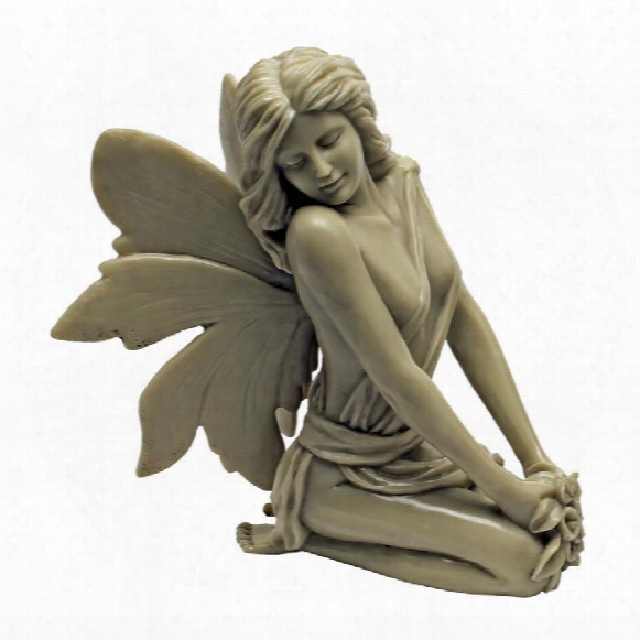The Enchanted Garden Fairies Sculpture: Colleen