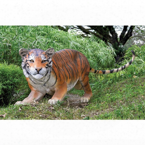 The Grand-scale Wildlife Animal Collection: Bengal Tiger Statue