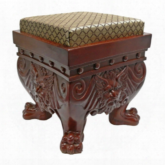 The Greenman Footstool